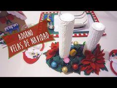 Velas Navideñas de Jabón: Ideas Decorar tu mesa en Navidad - YouTube
