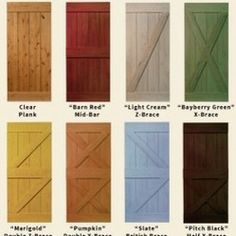 Sliding Barn Doors -