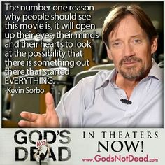 God's Not Dead #movie #quote Kevin Sorbo