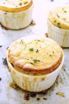 Vegan Pot Pie With Cornbread Crust.
