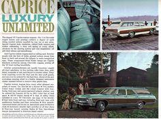 1967 Caprice Chevrolet Station Wagon