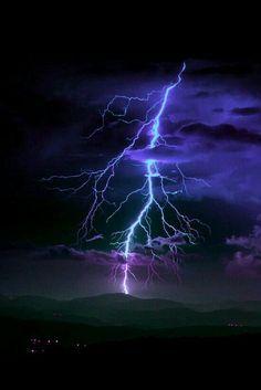 Blue Lightning Bolt More