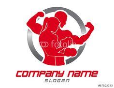 Vector: Logo gym