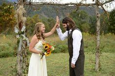 I pretty much want this wedding...