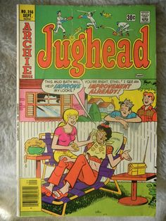 Jughead Comic No 256 Sept Series by AlienDragon on Etsy Archie Comic Books, Archie Comics, Jughead Comics, Archie Jughead, Archie Andrews, Good Buddy, American Comics, Sweet Memories, Sell On Etsy
