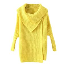 Lapel Batwing Sleeve Yellow Cardigan (425 MXN) ❤ liked on Polyvore featuring tops, cardigans, batwing sleeve tops, bat sleeve cardigan, batwing sleeve cardigan, bat sleeve tops and yellow top