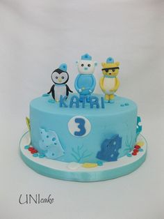C193.  Oktonautit-kakku.  Octonauts cake