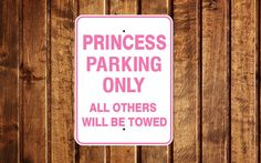 Custom Your Text Parking Sign 12 x 18 personalized sign