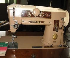 Singer 401A - a classic sewing machine! I still use mine! This is the exact one!