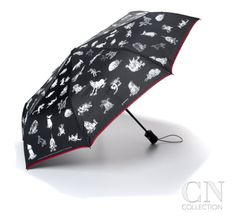 Collapsible Booth Umbrella Poster Print by George Booth at the Condé Nast Collection