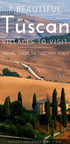 Tuscany Italy: The most beautiful, romantic villages to travel to. Tuscany | Italy | Things to do | Travel | Beautiful Places #Tuscany #Italy #Travel