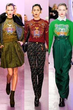 1980's fashion trends   1980s Fashion Trends, Fall 2012 Trends: Zooland : Fashion Gallery