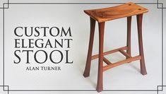 "Learn how to build a tool ins ""Custom Elegant Stool"""