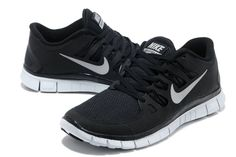new arrival a0955 d3465 New Womens NIKE 5.0 Free Running Shoes Black and gray Nike Free Runs, Nike  Shoes