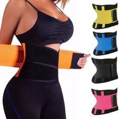 Sweetlover Waist Trainer Women Neoprene Corset Workout Trimmer Belt Hot Sweat Body Shaper Cincher with Zipper Waistband Black, XX-Large