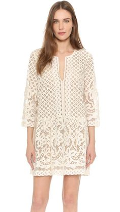 BCBGMAXAZRIA Laurice lace dress: http://www.stylemepretty.com/2016/03/22/lace-dresses-perfect-for-spring/: