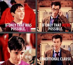 Taking Grammar Nazi to a Whole New Level (click pin for blog post and Doctor Who/David Tennant eye candy!)