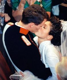 The Wedding of Princess Alexandra to Prince Joachim of Denmark At Frederiksborg Castle on 18 Nov 1995 - The couple divorced on 8 April 2005