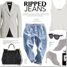 how to wear blazer with jeans and heels 8