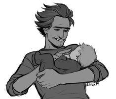 Rick and baby Summer