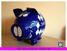 Grosses Sparschwein - Geldgeschenk - Briefbox - Geschenk  Oktoberfest - Bayrisch