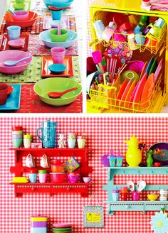 Rice home wares, I love the colours!