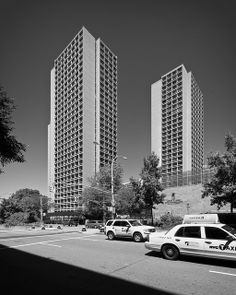 Good Silver Towers | 1966 | New York University, New York City | Architect I.M.  Pei