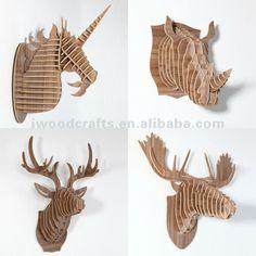 Madera alce la cabeza para la decoración de la pared, cabeza de venado-Artesanías de Esculturas-Identificación del producto:564817699-spanish.alibaba.com