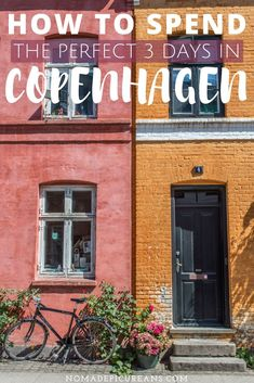 Planning on spending 3 days in Copenhagen? Pin our local's guide to Copenhagen for getting the most out of your visit. Includes hidden gems and practical tips. #travel #denmark #copenhagen