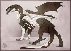 Pied dragon by DemonML on DeviantArt