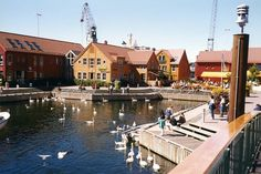 Kristiansand, the fish market, Norway