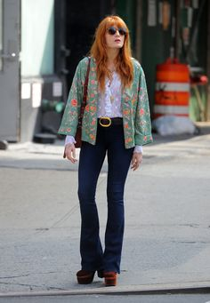 Florence Welch giving strong Fleetwood Mac 70s feels