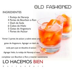 Old Fashioned - Festejá con Estilo! de LO HACEMOS BIEN bartenders Como preparar un Old Fashioned - Recipie How to prepare a Old Fashioned - Party with style!