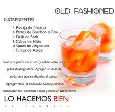 Old Fashioned - Festejá con Estilo! de LO HACEMOS BIEN bartenders Como preparar un Old Fashioned - Recipie How to prepare a Old Fashioned - Party with style!