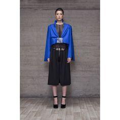 Chaqueta azul Kalos Kalos, Branding Design, Womens Fashion, Fashion Design, Dresses, Wide Pants, Jackets, Blue Nails, Vestidos