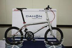 2015 DAHON CLINCH(ダホンクリンチ) 日本販売モデルは、フレームが更に秀麗になっている。 - スポーツサイクルまったり選び