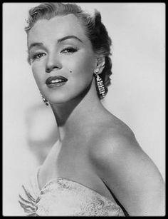 """1950 / Portraits publicitaires pour le film """"All about Eve"""", des photographes Edward CLARK et John ENGSTEAD (photos avec les roses)."""