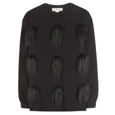 Stella McCartney - Embellished cotton sweatshirt - mytheresa.com