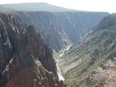Black Canyon of the Gunnison National Park in wild Colorado. One of the least visited National Parks, this amazing wilderness area is a hidden treasure! Read about how to visit this amazing parks with kids!