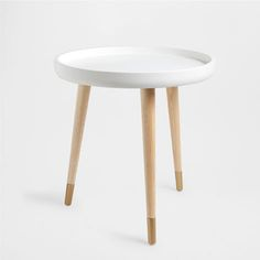 NATURAL-TONE LITTLE TABLE WITH LEGS - Occasional Furniture - Decor and pillows | Zara Home United States