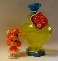Little Kiddle Dolls | Vtg Little Liddle Kiddle Doll Orange Blossom Kologne Mattel 1968- 1970 ...