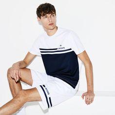 Nike Outfits, Polo Shirt Outfits, Mens Polo T Shirts, Golf Shirts, T Shirt Lacoste, Lacoste Sport, Lacoste Men, Nike Clothes Mens, Tennis Clothes