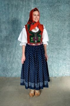 Kroj from region Moravian Wallachia, a mountainous area in Eastern Moravia.