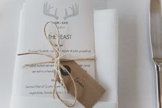 A beautiful modern wedding at Crear in Scotland with a white colour scheme and hand made DIY invitations