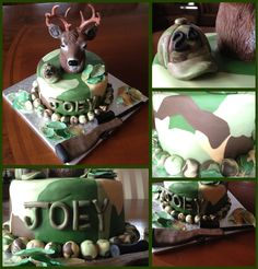 Hunting cake---my boyfriend would seriously want this