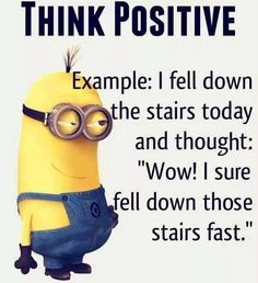 Minion Think Possitive