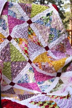 Cute girl's quilt to make...