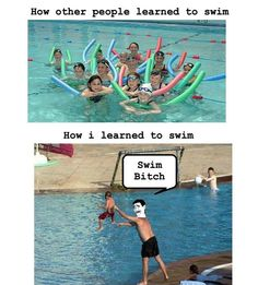 This is why I'm terrified of swimming...with my parents!