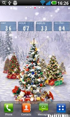 Christmas Snow Pro Live Wallpaper V12 Paid Mod Android APK