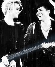 Another favorite photo Adam Lambert and Tommy Joe Ratliff